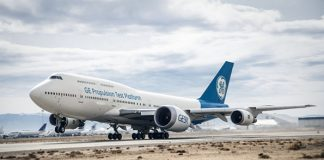 GE Aviation's GE9X for the Boeing 777X takes flight