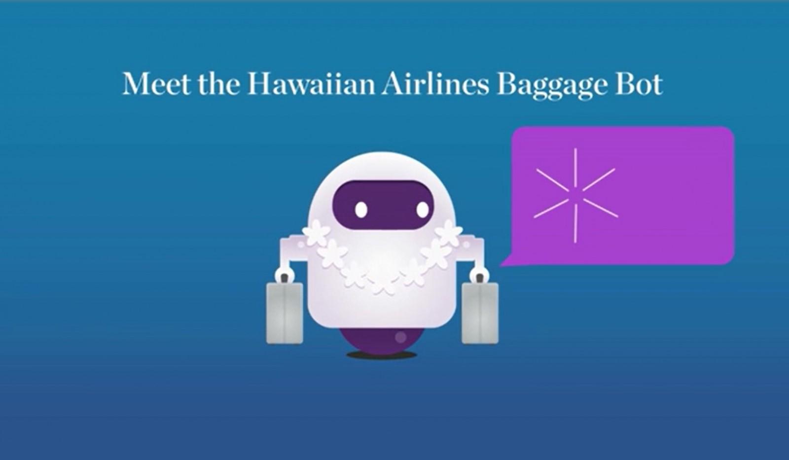 Hawaiian baggage bot online help