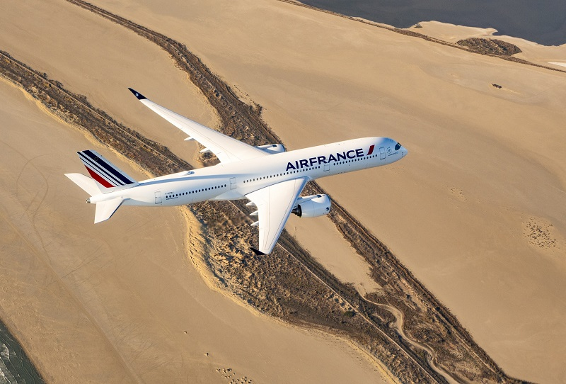 carbon offset Air france