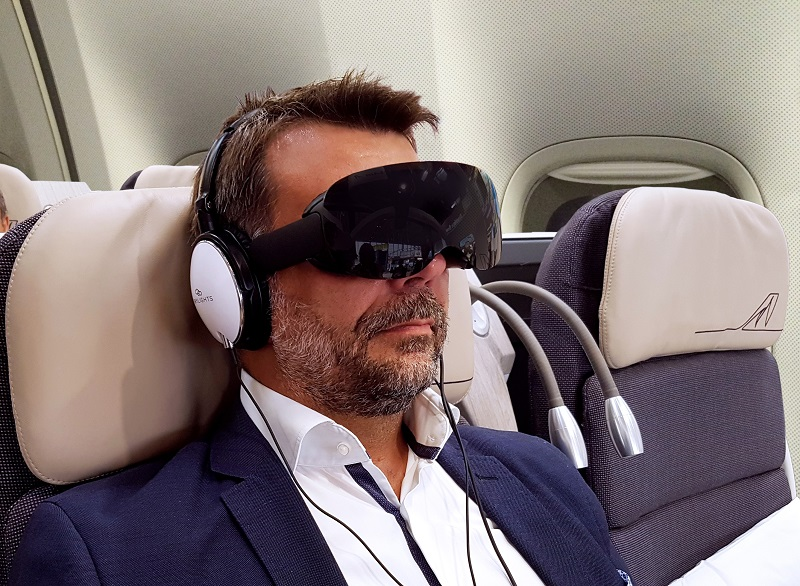 Virtual reality entertianment