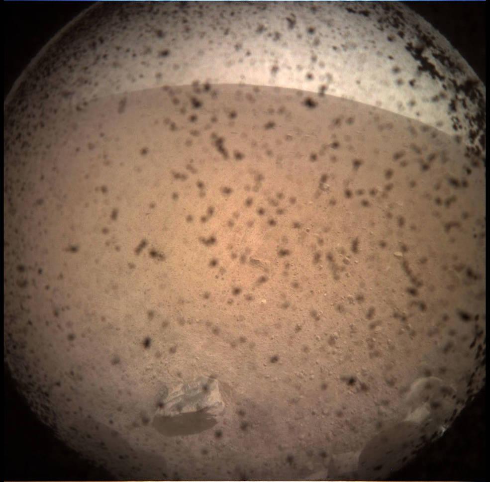 mars Insight landing NASA