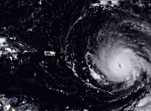 Hurricane irma nasa satellite