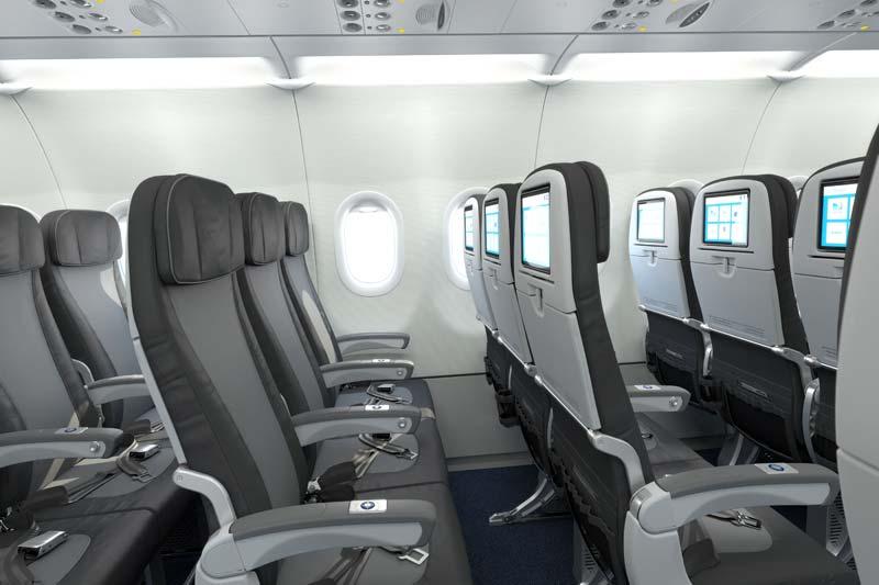 JetBlue economy class