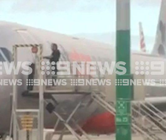 jetstatr melbourne Airport security breach