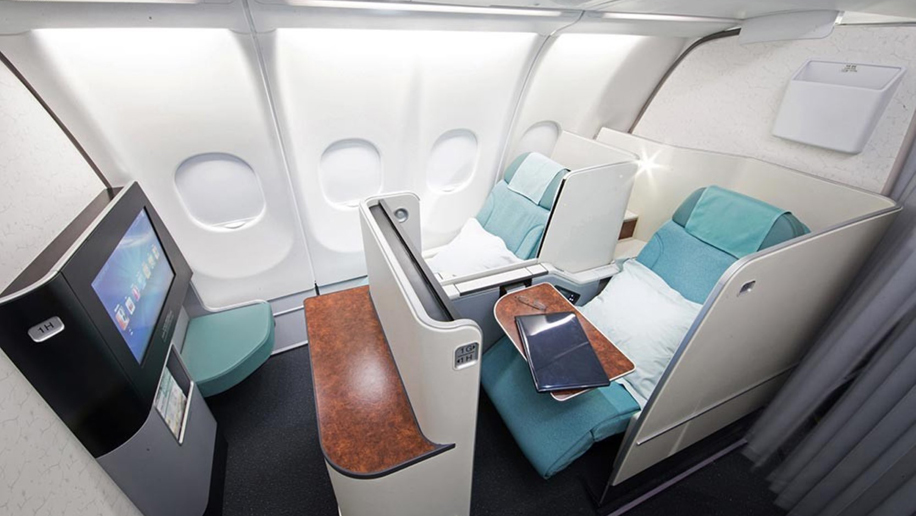 korean air sleeper suite