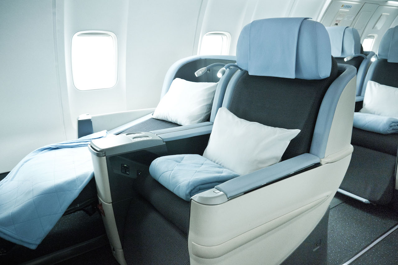 la compagnie 757 business seats