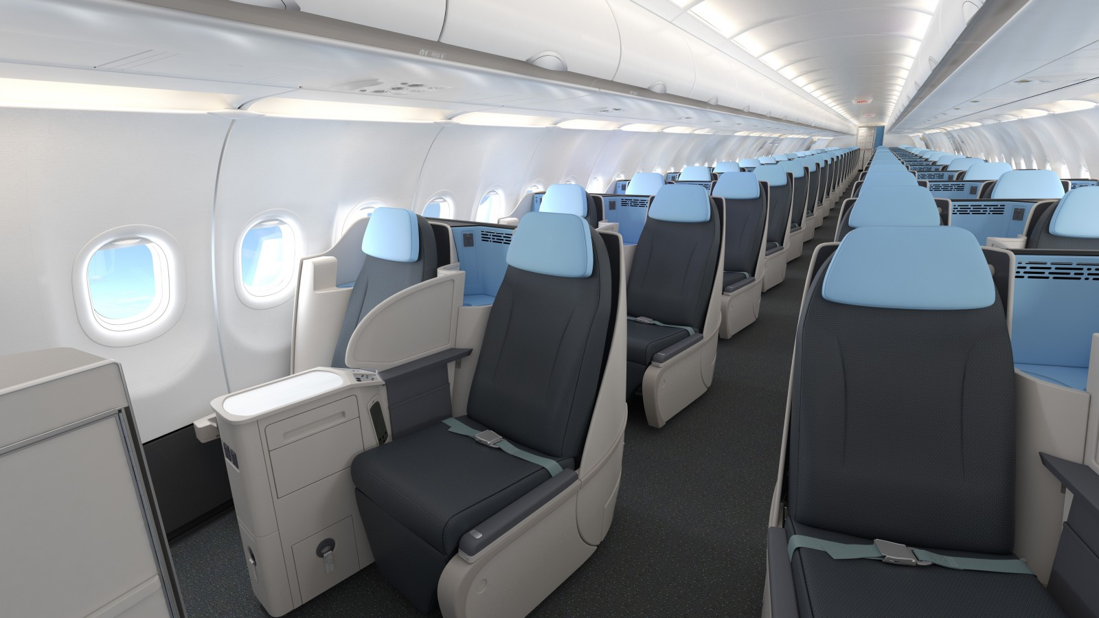 la compagnie A321 business seats