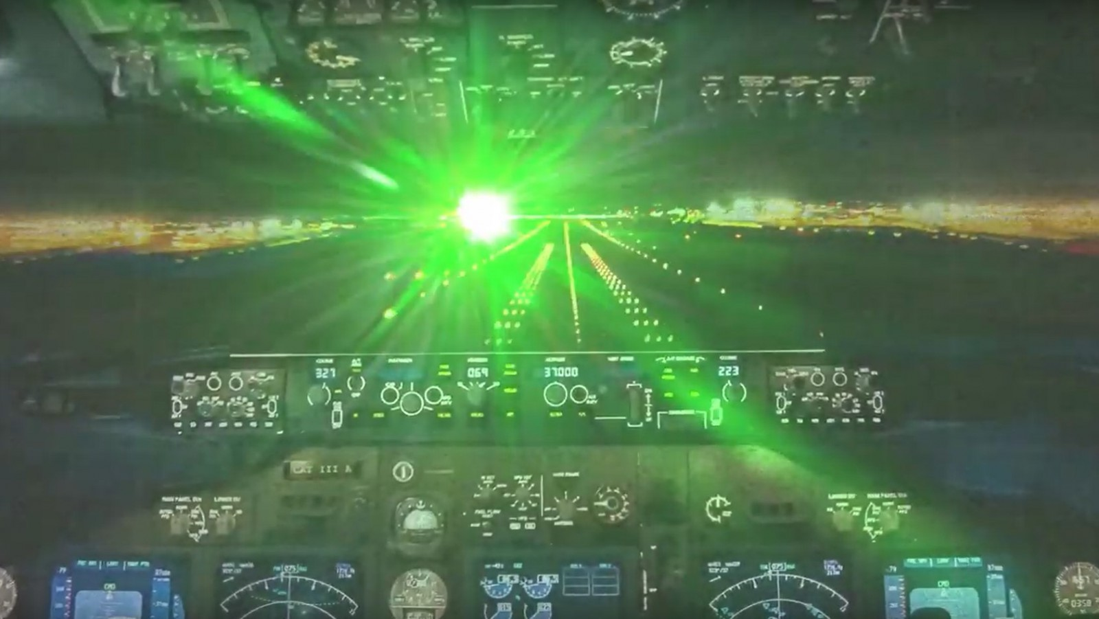 laser and FAA