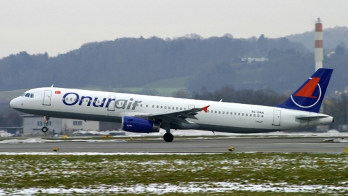 Onur Air A320  Picture: Onur Air