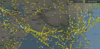 Pakistan airspace open