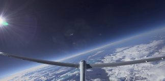 perlan glider record tailcam