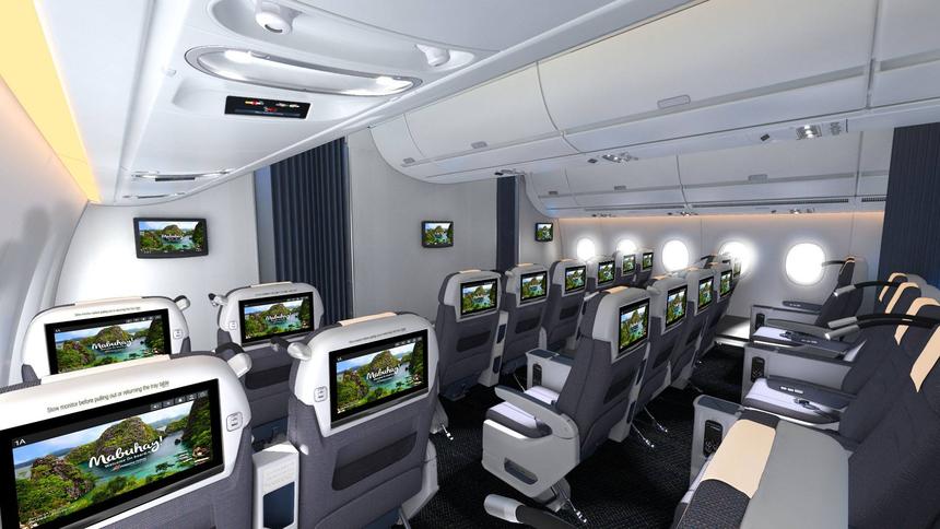 philippine airlimes A350 premium economy