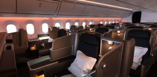 Qatas Dreamliner business