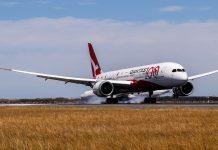 Qantas non-stop