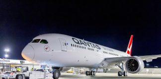 Qantas 787-9 Perth London