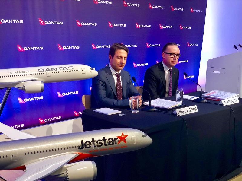 qantas record underlying profit