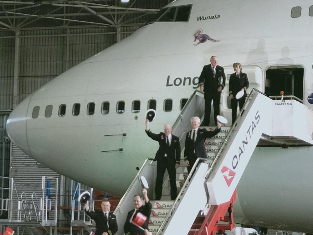 Qantas 747 farewell