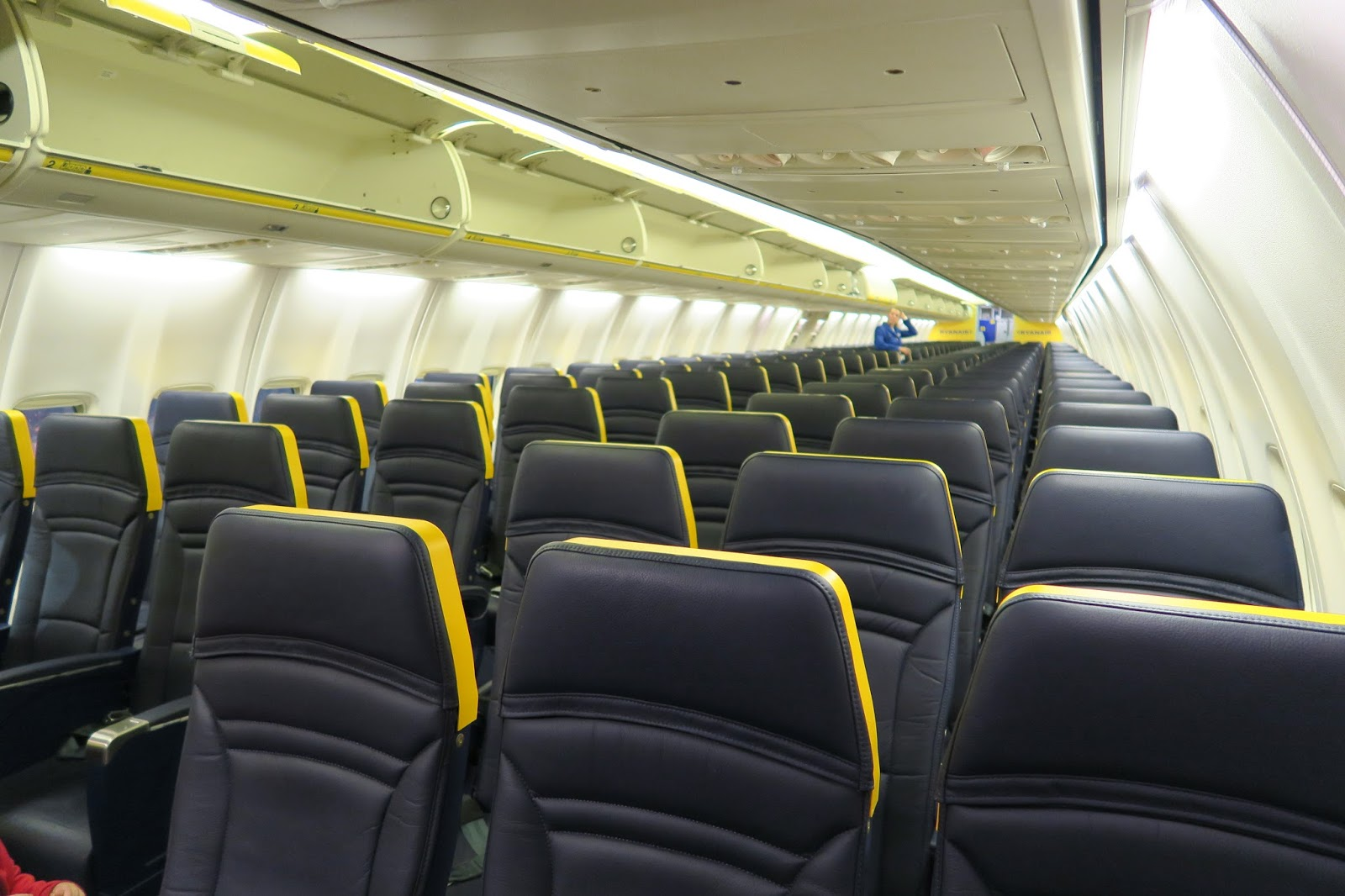 Ryanair new cabin