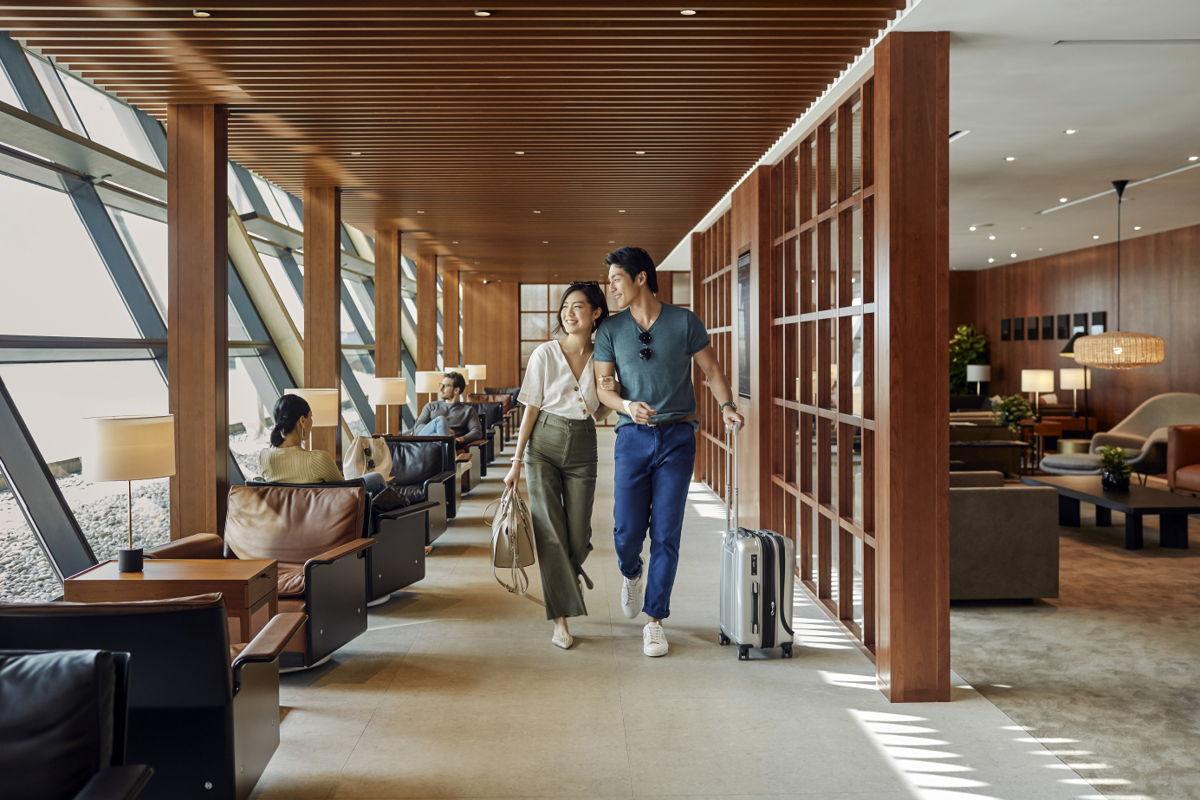 Cathay lounge Shanghai