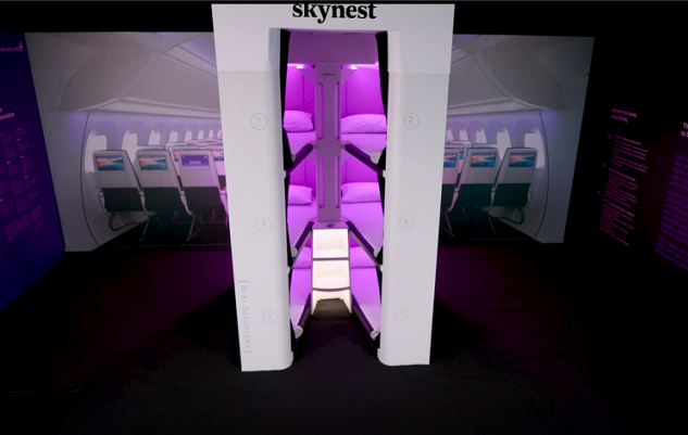 Air New Zealand Skynest economy