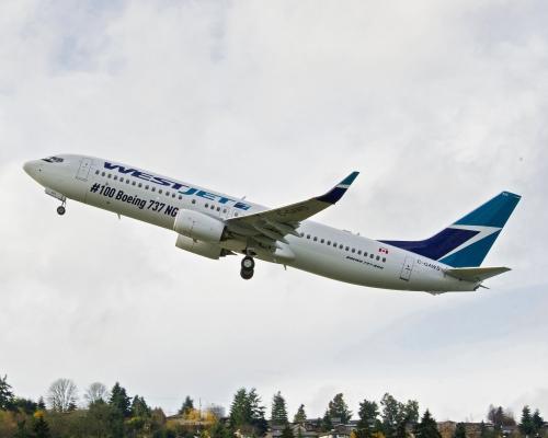WestJet 737-800  Picture: Westjet