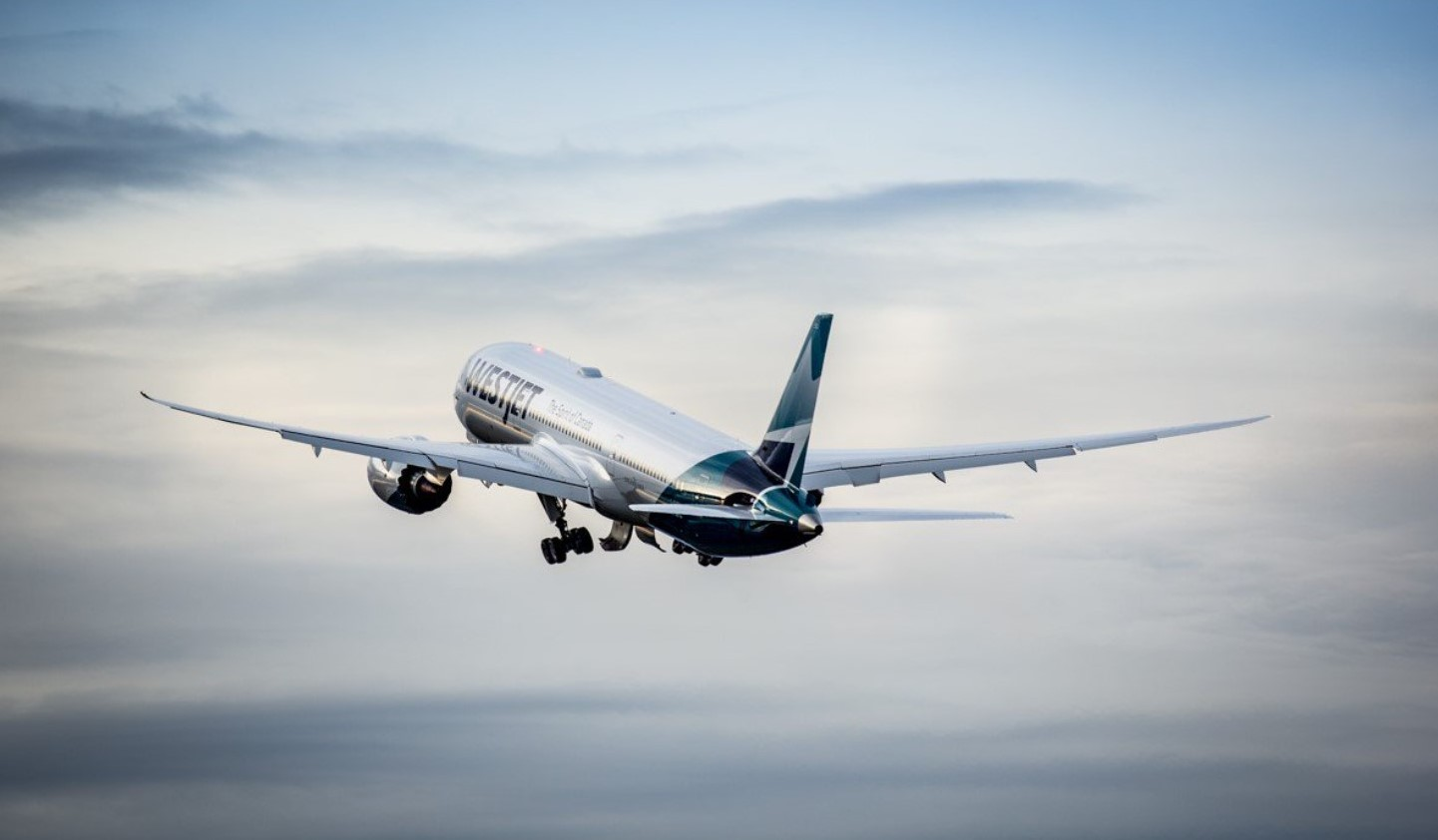 WestJet Dreamliner first delivery