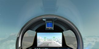 Window X-59 NASA supersonic