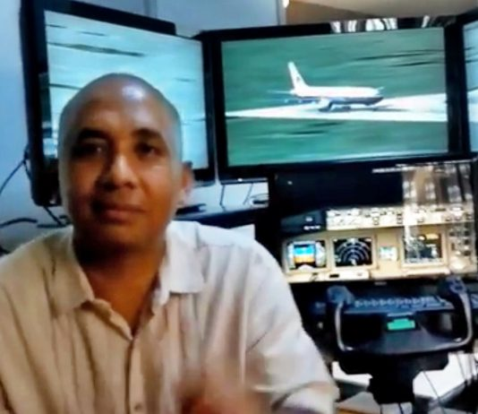 MH370 captain sad